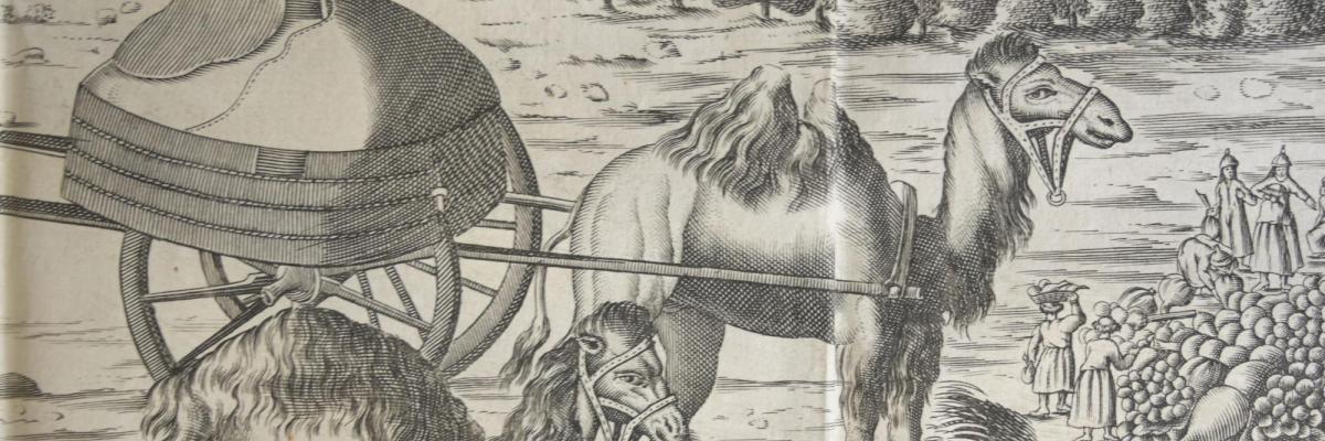 Adam Olearius, Relation du voyage d'Adam Olearius en Moscovie, Tartarie et Perse, Paris, Jean Du Puis, 1659. BU Rennes 2, Rés. anc. 56726