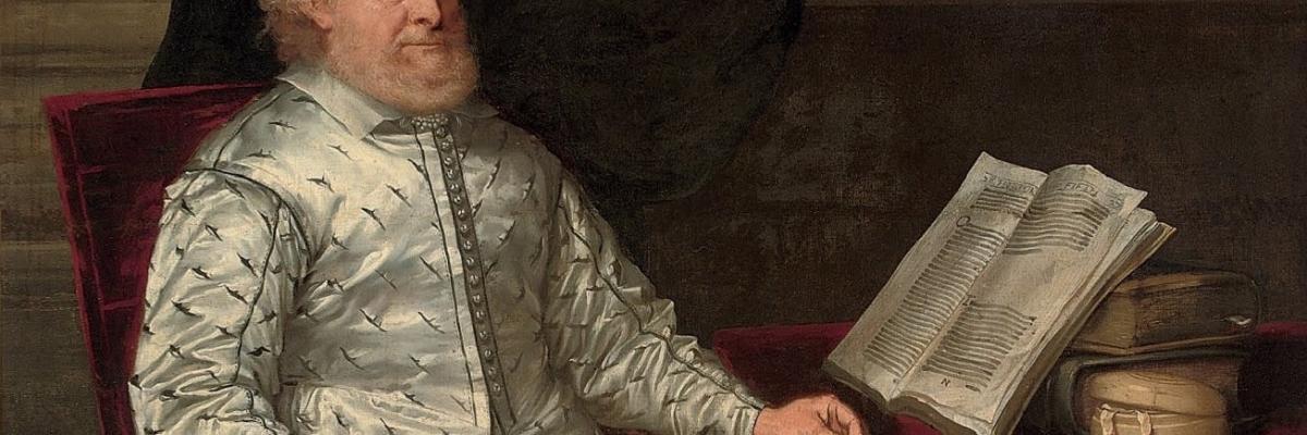 Portrait of a bibliophile par English School, 17th Century, domaine public. Source [Wikimedia Commons]