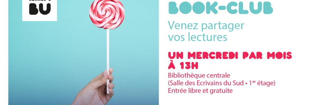 Affiche du Book Club - BU Rennes 2