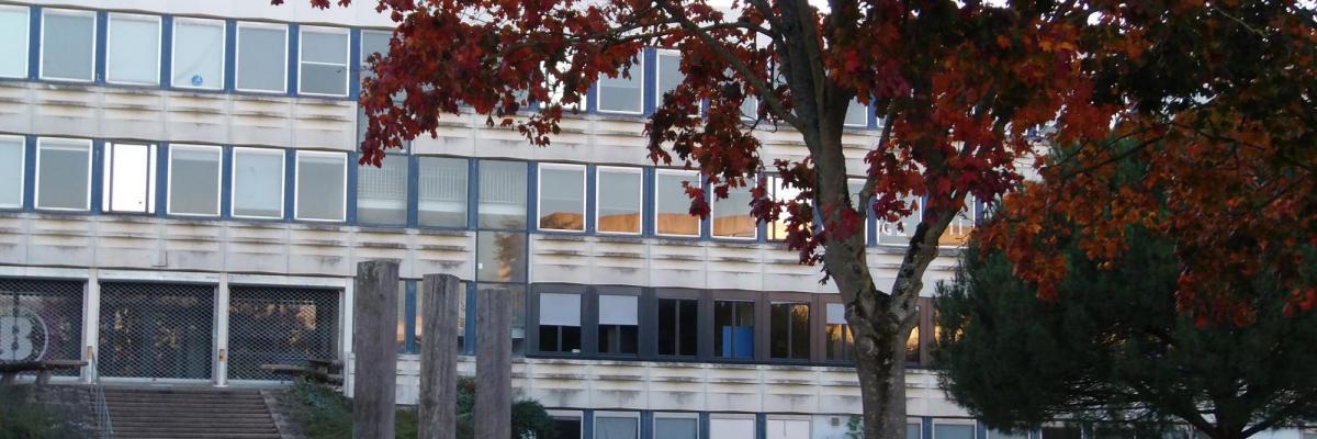 Bâtiment B - Campus de Villejean (Université Rennes 2) par Camilleh9, licence CC : BY-SA. Source [Wikimedia Commons]