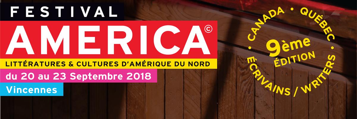 Affiche du Festival America 2018