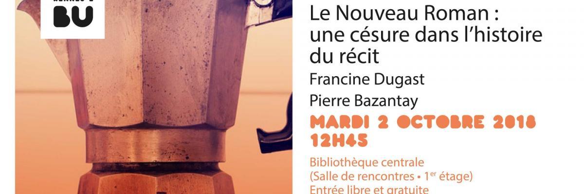 Affiche PUR Café du 2 octobre 2018 - BU Rennes 2