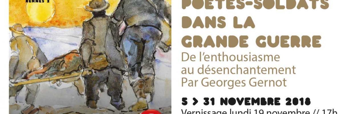 Affiche de l'exposition - SCD Rennes 2