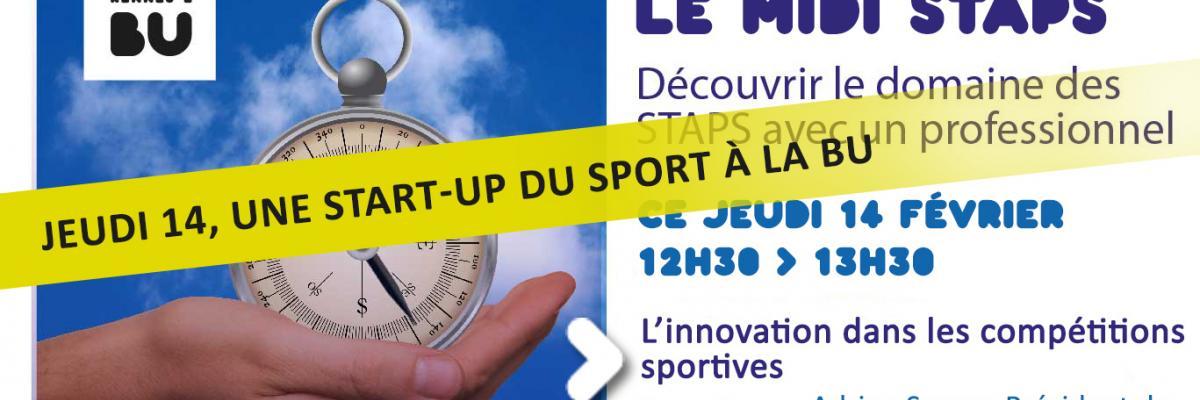 Affiche de la rencontre midi STAPS du 14/02/2019 - SCD Rennes 2