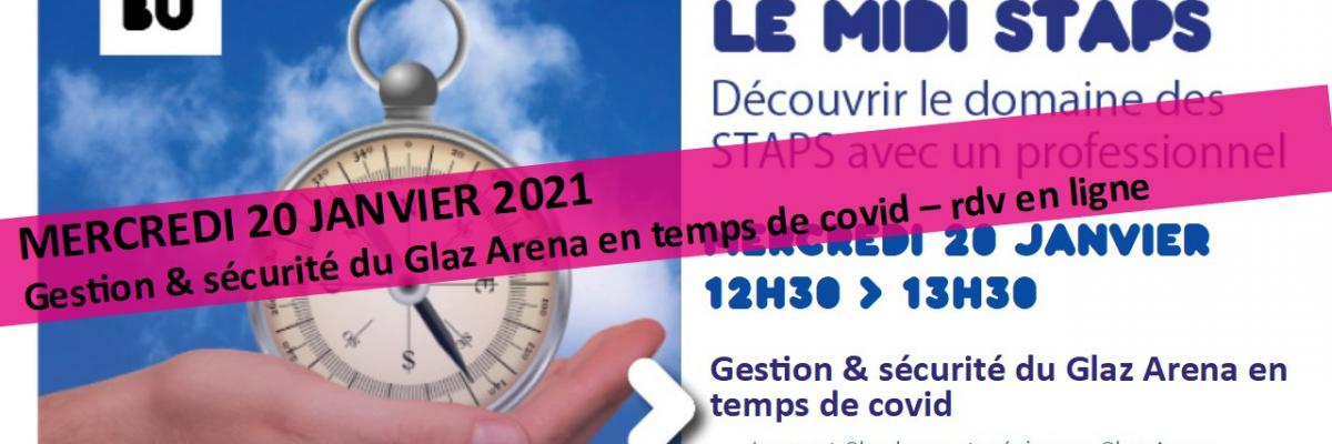 Visuel Midi STAPS 20/01/2021 - SCD Rennes 2