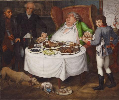 Georg Emanuel Opitz Der Völler 1804 . Source [Wikimedia Commons]