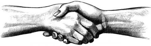Poignée de mains par Frédéric BISSON, licence CC : BY 2.0. Source [Flickr]