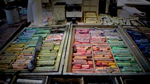 Atelier de Frans Schouwenburg, Licence CC : BY-NC. Source [Flickr]