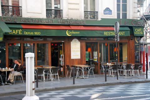 café ou fut assassiné Jean Jaurès par garysoccer1, licence CC:BY-NC, source [Flick'r]