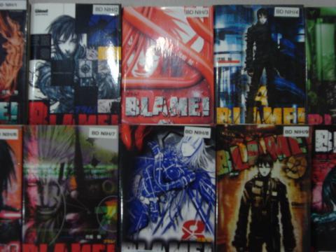 Couvertures de Blame ! Avec l'aimable autorisation de Glénat Manga