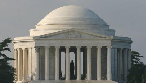 Jefferson memorial, source Flickr, Licence CC-BY par dbking