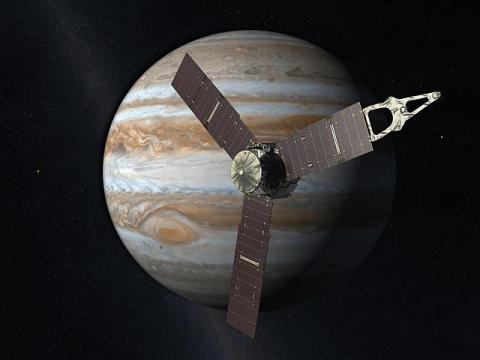 Juno Jupiter par NASA. Source [Wikimedia Commons]