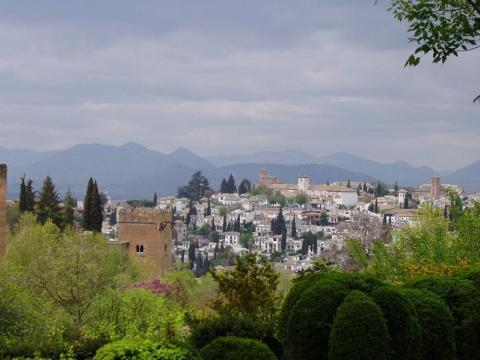 Granada in Spain par Додонов Вячеслав Николаевич, licence CC : BY-SA 3.0. Source [Wikimedia commons]