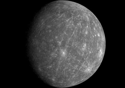 Mercury as never seen before par NASASolarSystem, Licence CC : BY-NC-ND. Source [Flickr]