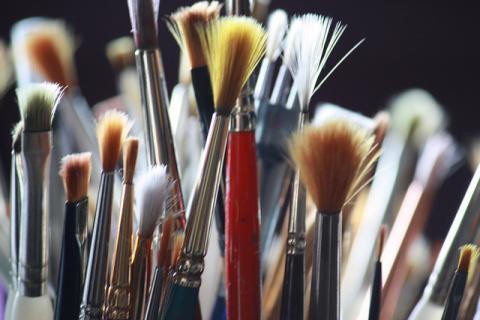Pinceaux par masauve, licence CC:BY-NC-ND. Source [Flickr]