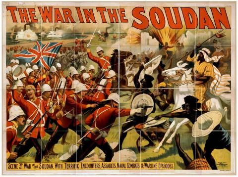The war in the Soudan. Source [Wikimedia Commons]