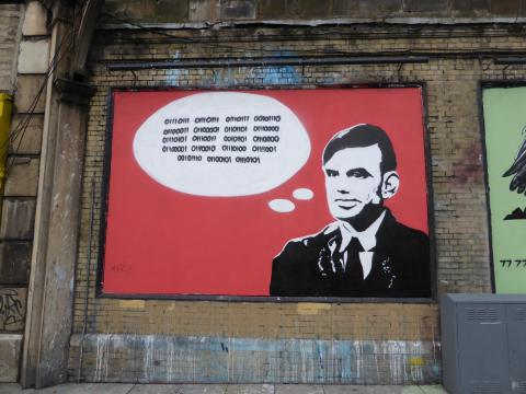 Alan Turing by Duncan C. Licence CC : BY-NC. Source [Flickr]
