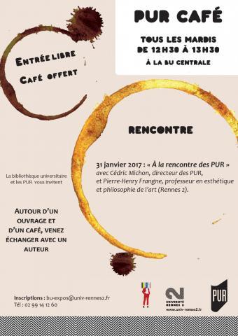 Affiche PUR Café - 31 janvier 2017
