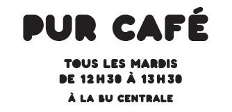 Extrait de l'affiche PUR CAFE