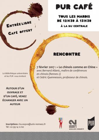 Affiche PUR Café - 7 février 2017