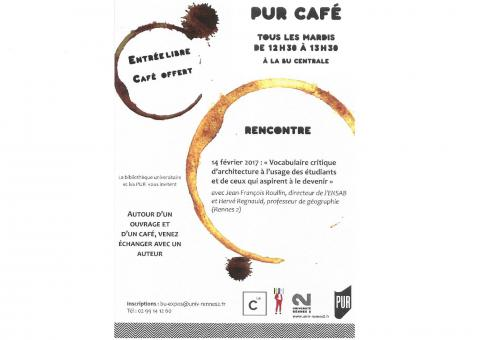 Affiche PUR Café - 14 février 2017