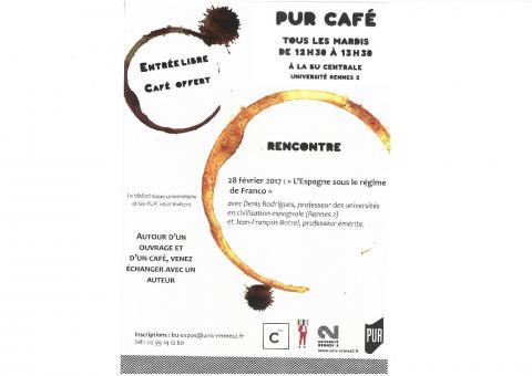 Affiche PUR Café - 28 février 2017
