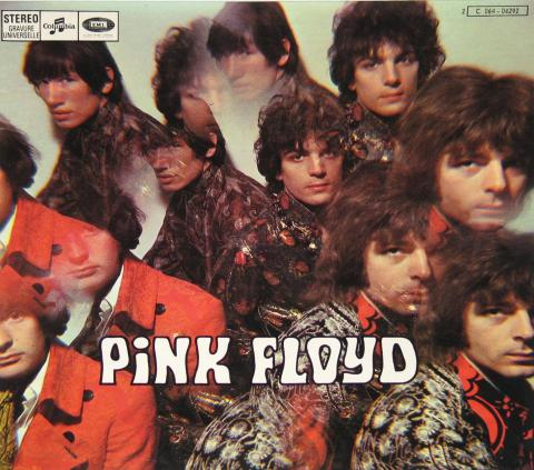 """Pink Floyd """"Piper at the gates of dawn"""", pochette, licence CC : BY-NC-SA. Source [Wikipedia]"""