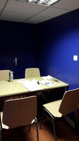 BU centrale - Salle de travail repeinte