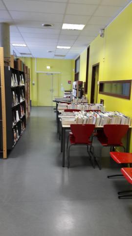 Bibliothèque Charles Foulon ALC - Déplacement des collections
