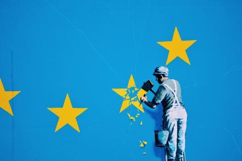 Dover Banksy par ijclark, licence CC : BY. Source [Flickr]