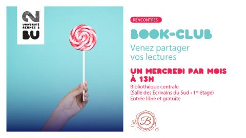 Affiche du Book Club - BU Rennes 2