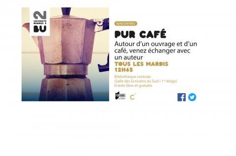 Affiche PUR Café 2017-2018 - BU Rennes 2