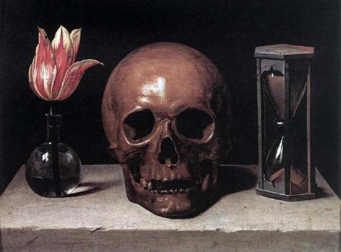 Still Life with a Skull par Philippe de Champaigne, domaine public. Source [Wikimedia Commons]