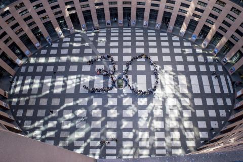 ERASMUS 30th Anniversary celebration par European Parliament, licence CC : BY-NC-ND 2.0. Source [Flickr]