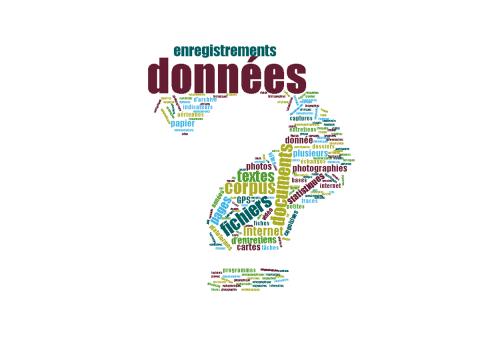 Nuage de tags données de la recherche, Image C. Pierre (SCD Rennes 2)