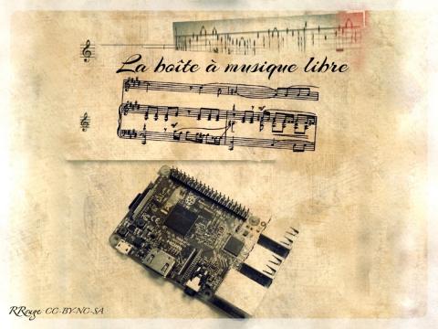 La boîte à musique libre par Rebecca Rouge, licence CC : BY-NC-SA