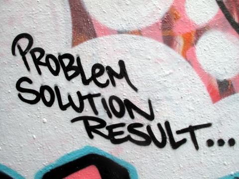 Problem, Solution, Result... par duncan c., licence CC : BY-NC. Source [Flickr]