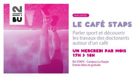 Affiche des cafés STAPS - SCD Rennes 2
