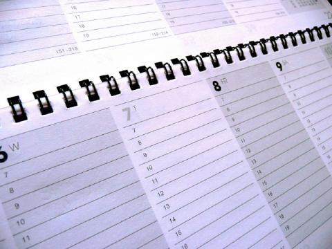 Business Calendar & Schedule par photosteve101, licence CC : BY 2.0. Source [Flickr]