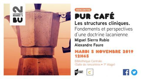 Pur Café Les structures cliniques - BU Rennes 2