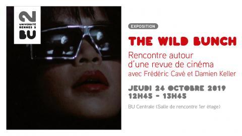 Affiche The Wild Bunch - BU Rennes 2