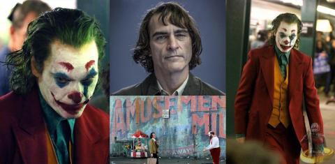 Joaquin Phoenix's Joker Look par AntMan3001, licence CC : BY-SA. Source [Flickr]