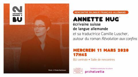 Affiche de la rencontre du 11 mars 2020 - BU Rennes 2