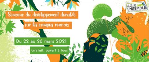 Visuel de la Semaine du développement durable 2021 - CRICDD