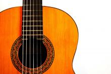 guitarra par Óscar Suárez, licence CC : BY-NC-ND. Source [Flickr]