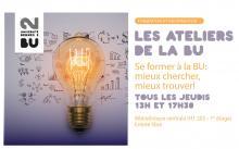 Visuel Les ateliers de la BU - BU Rennes 2