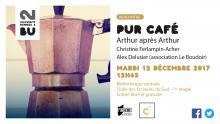 Affiche PUR Café - 12 décembre 2017 - BU Rennes 2