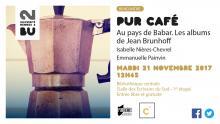 Affiche PUR Café - 21 novembre 2017 - BU Rennes 2