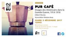 Affiche PUR Café - 5 décembre 2017 - BU Rennes 2