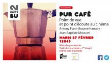 Affiche PUR Café du 27 février 2018 - BU Rennes 2